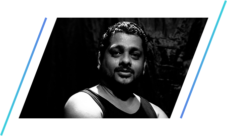 Jaison Mathew assistant Artistic director of The Dance Worx