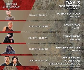 TDX CHOREO CAMP – ONE DAY PASS – TAISIYA BORISOVA, EXON ARCOS, CARLOS NETO, SHIRLENE QUIGLEY
