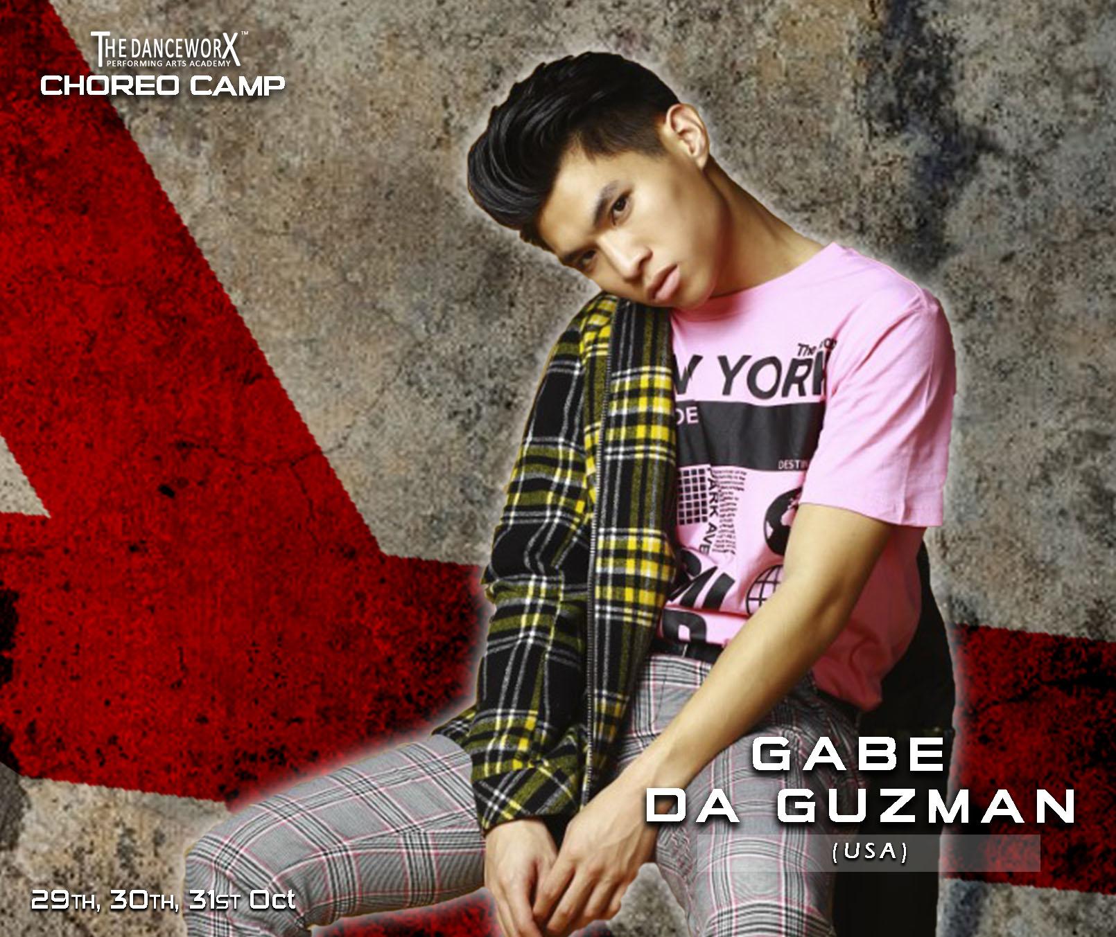 TDX CHOREO CAMP – SINGLE CLASS PASS – GABE DE GUZMAN