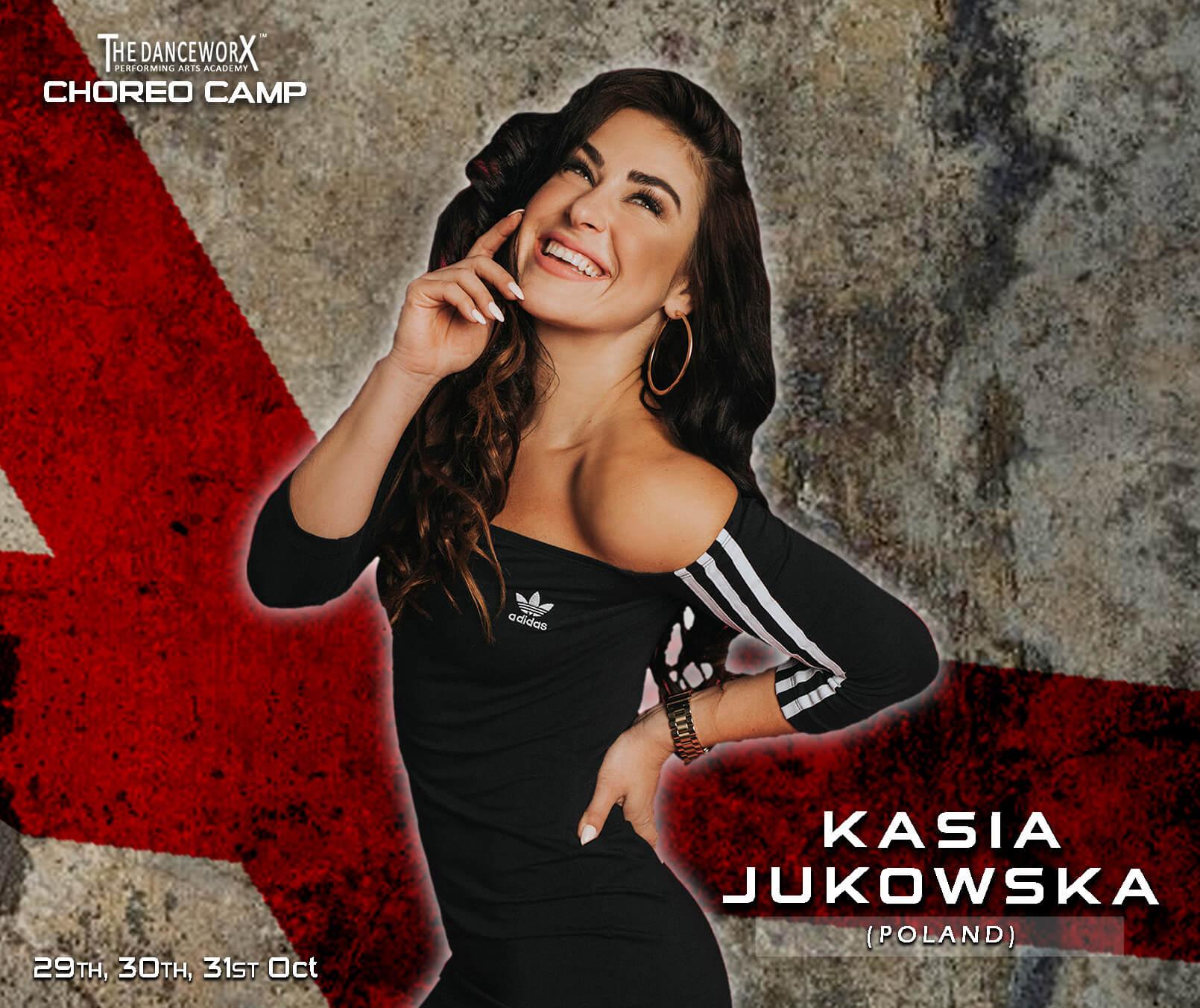TDX CHOREO CAMP – SINGLE CLASS PASS – KASIYA JUKOWSKA